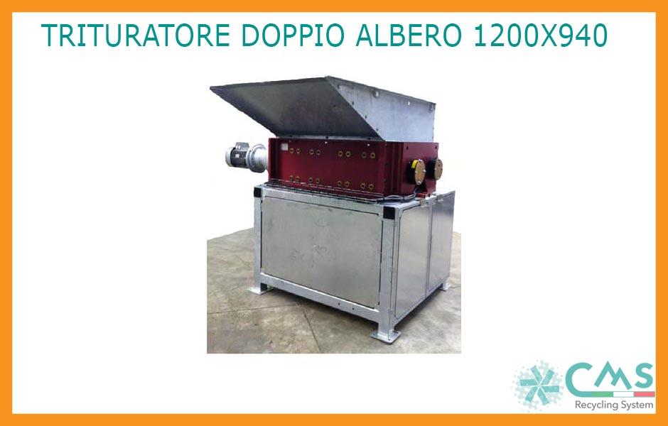 Trituratore Bialbero DB 1200 X 940