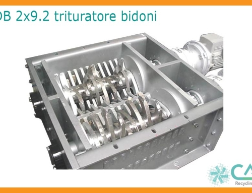 Trituratore Bialbero DB 2×9.2